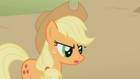 Applejack looking stern S01E13