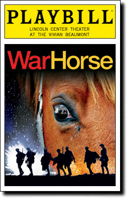 Playbill War Horse theater