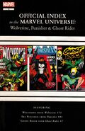 Wolverine, Punisher &amp; Ghost Rider Official Index to the Marvel Universe Vol 1 3