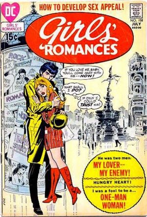 Cover for Girls' Romances #158