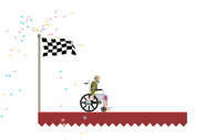 Happy Wheels finish line