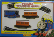 Hornby1990sClockworkThomasSet