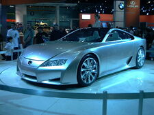 Lexus LF-A Pic 2