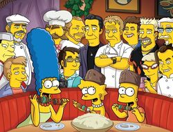 TheSimpsons FoodWife FirstLook 600111101084245