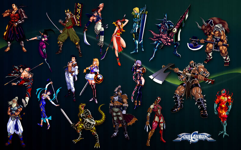 Soul Calibur All Character jpgSoul Calibur 1 Characters
