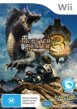 Game Cover-MH3 AU