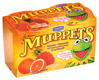 Muppets-Kinder-Danone-OrangeAnanas-(1988)