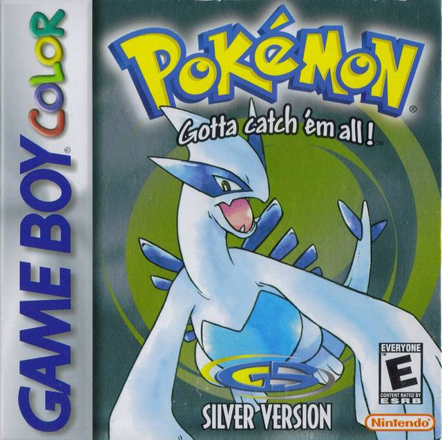 Pokemon Gold and Silver Pokemon_Silver_(NA)