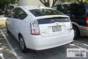 Hibrid Toyota Prius 61 MIA 12 2008 with logo