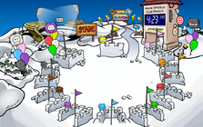 Snow Fort puffle (1)