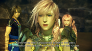 Lightning with Serah&amp;Noel