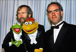 Henson hunt oscars backstage