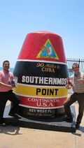 15. Noah and Phil - Key West Point