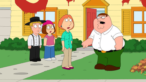 Family Guy Season 10 Episode 7 Amish Guy
