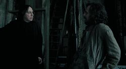 Snape Sirius