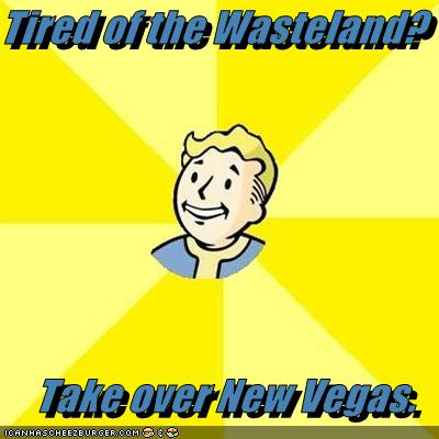 New Vegas Take Over