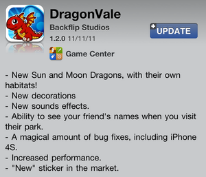 App Store update 1.2.0