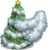 Silver Tinsel Tree-icon