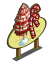 Giant Candy Cane Tree Mastery Sign-icon