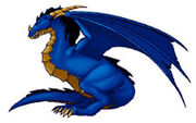 Dragon bleu WCA