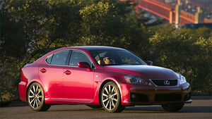 Lexus IS-F Matador Red Mica
