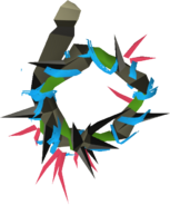 Abyssal vine whip (green) detail