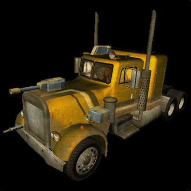Convoy's Truck from Vigilante 8 Arcade