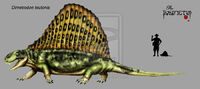 Dimetrodon teutonis by Theropsida