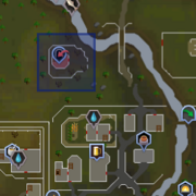 Chaos Druid Tower location