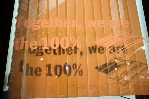 We are 100&#160;%