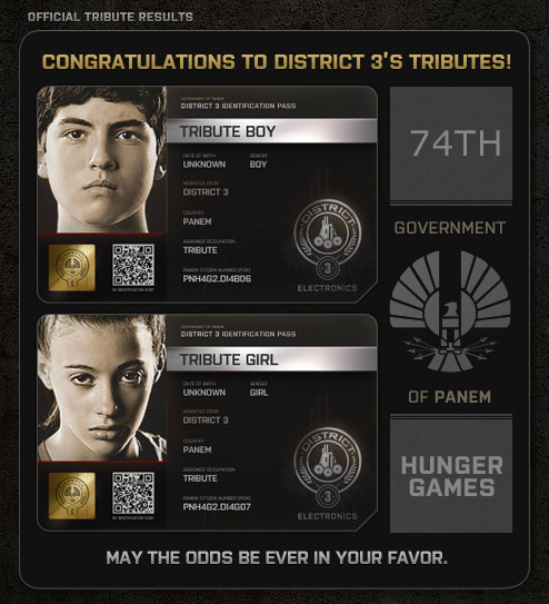 Hunger Games District 3 tributes