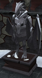 Dragonkin-statue