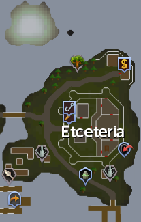 Etceteria map