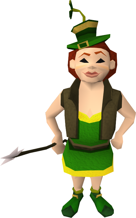 Female Tool leprechaun