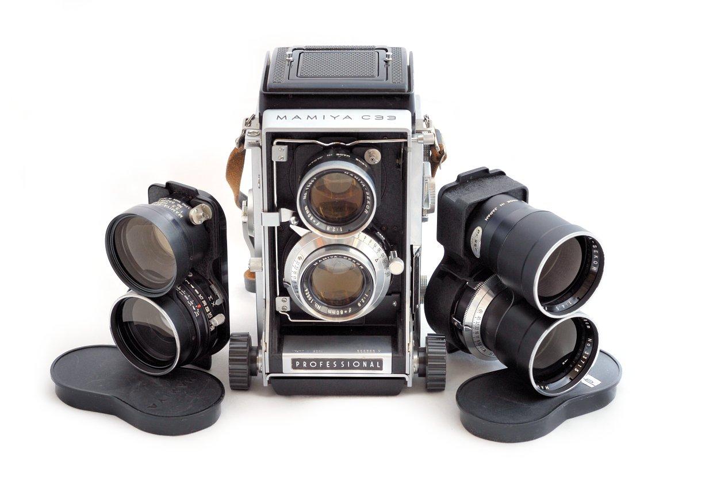 Mamiya C33 Twin Lens Reflex Tlrgraphy