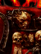 Khorne space marine avatar