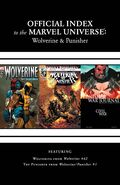 Wolverine, Punisher & Ghost Rider Official Index to the Marvel Universe Vol 1 7 Solicited