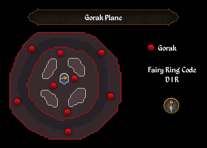 GorakPlane map