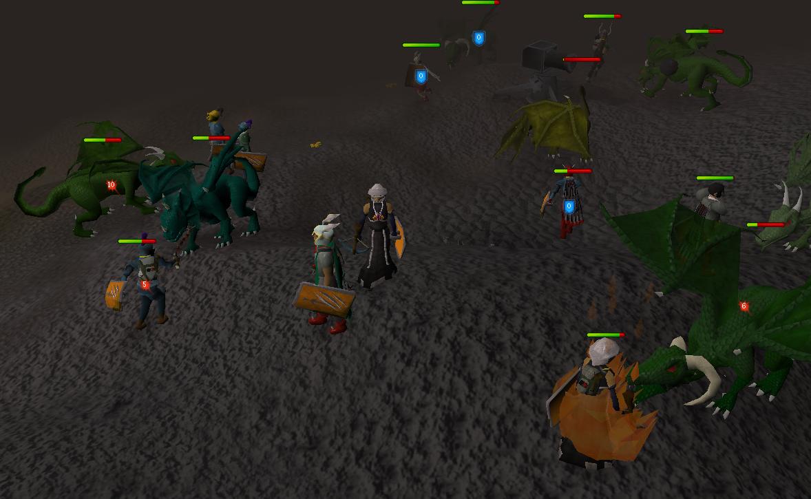 Green Dragon The Runescape Wiki
