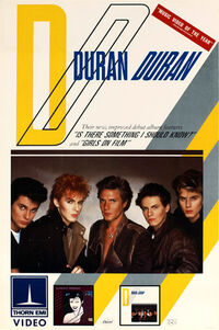 Duran duran film video poster 1983 wiki discogs
