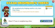 Clear Neighbor's Trees! 1
