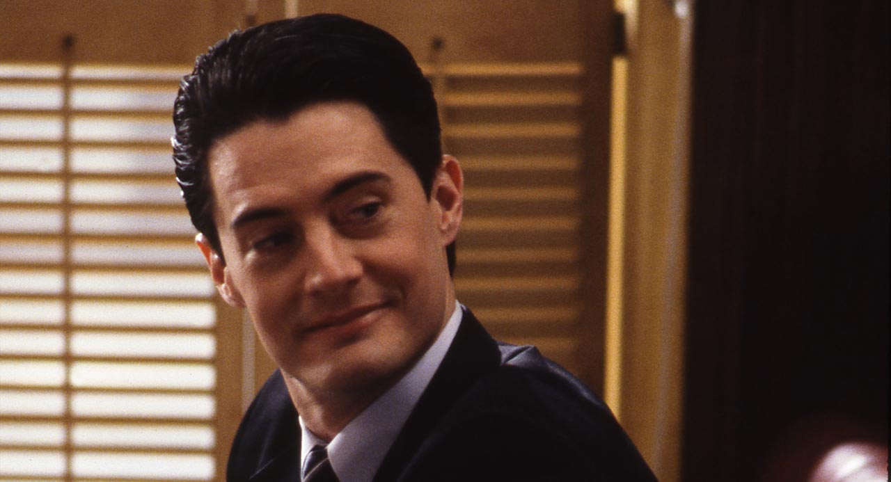 A smiling Dale Cooper