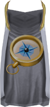Quest point cape detail