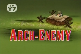 Arch-Enemy Title Card