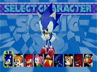 R-char select-sonic