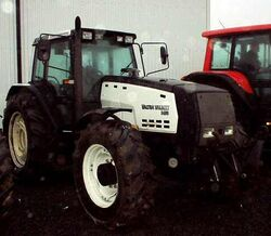 Valtra Valmet 8450 Mega MFWD (white) - 1998