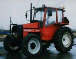 Valmet 604 Turbo MFWD (red)