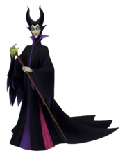 Maleficent in Kingdom Hearts Birth By Sleep