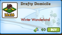 Drafty Domicile 16x16 Market Info