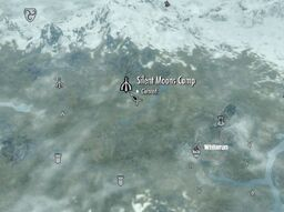 Skyrim map Silent Moons Camp